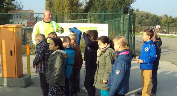 4de leerjaar-containerpark